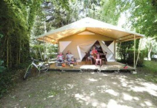 Camping le Beau Rivage tente canada camping beau rivage