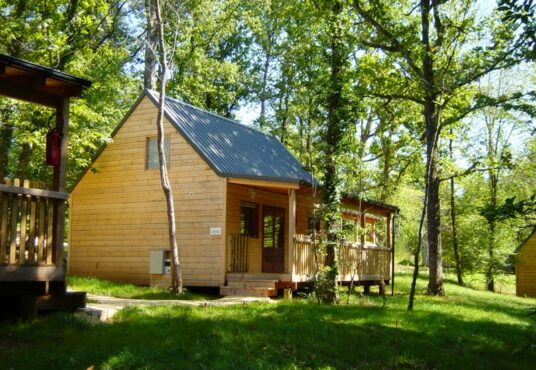 Castelwood chalet in bos